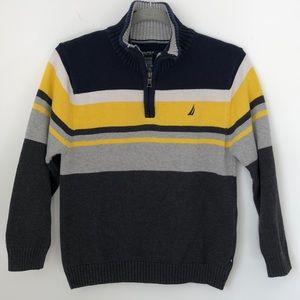 ✨ NAUTICA ✨ Boys 1/4 Zip Sweater. M 10 /12